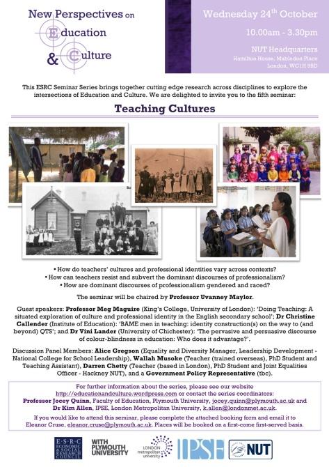 Seminar 5 Invitation